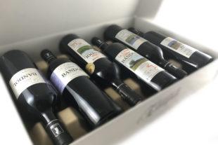 Détail carton 6 bouteilles vin de Bandol Domaine de l'Estagnol