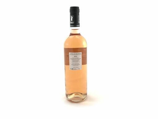 Bouteille cotes de Provence rosé 2016 Domaine de l'Estagnol Sandrine Féraud