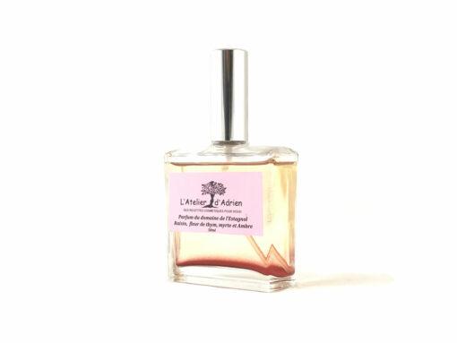 Parfum au raisin du Domaine de l'Estagnol avec paillettes