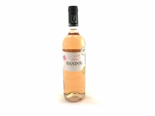 Vin de Bandol rose 2016 Domaine de l'Estagnol bouteille vin