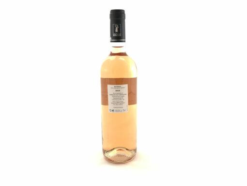 Vin de Bandol rose 2016 Domaine de l'Estagnol etiquette bouteille vin