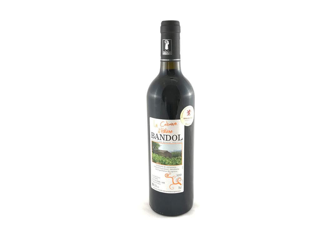 Vin de Bandol Rouge Millésime 2010 Médaille bronze macon Domaine de l'Estagnol