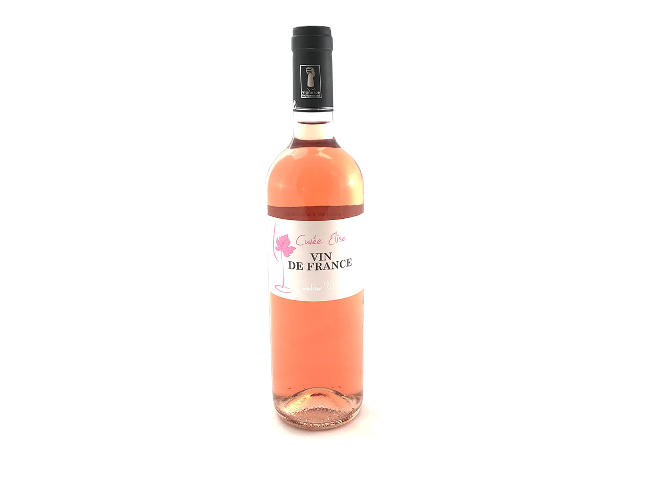vin de France rosé cuvée Elise Domaine Estagnol