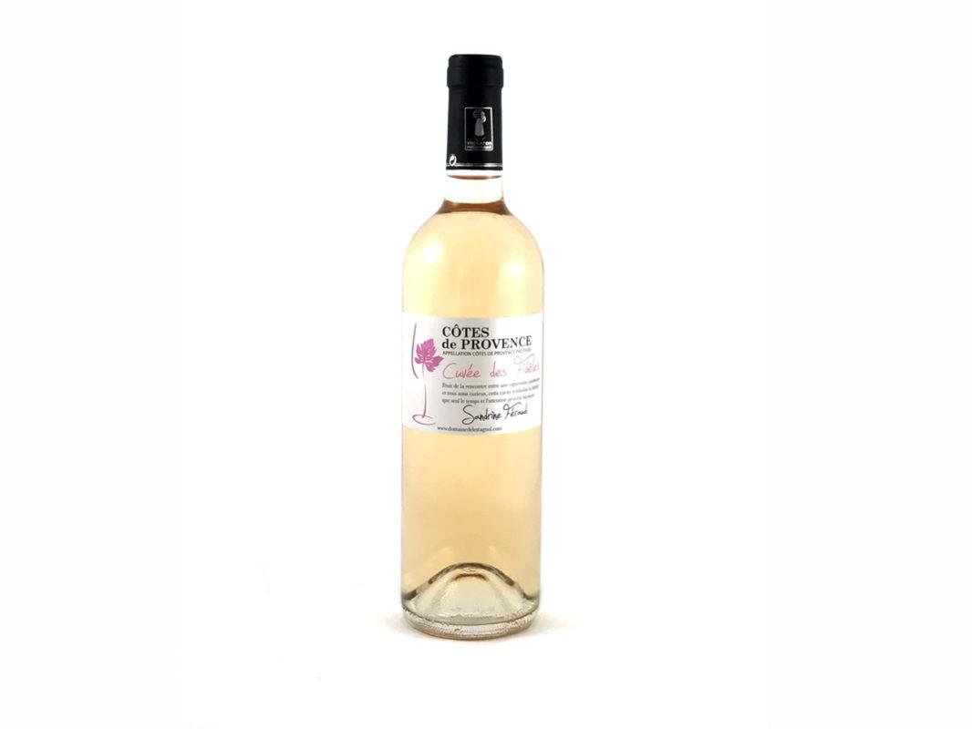 cotes de Provence rosé 2017 domaine de l'Estagnol Sandrine Féraud